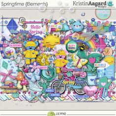 Kit: Springtime by Kristin Aagard Designs Elements: http://the-lilypad.com/store/digital-scrapbooking-packs-springtime-elements.html Papers: http://the-lilypad.com/store/digital-scrapbooking-packs-springtime-papers.html