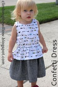 Click on the picture to get the FREE size 2T pattern:      It's time for the Confetti Dress tutorial!!! I'm sure I'm way more excited tha...