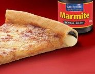 New Zealand's Pizza Hut has released a marmite crust pizza. I WANT!