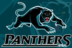 Show your support for the Penrith Panthers! Pantera Logo, Penrith Panthers, Rugby League, Football, Logos, Panthers Nrl, Sports, String Art, 21st