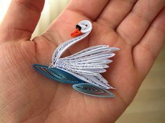 Quilled Swan