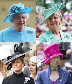 Royal Ascot 2014: Espectaculares sombreros, tocados y pamelas... ¡Comienza el 'show'!