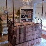This is a beautiful and well designed french nursery rhyme themed style nursery. An incredible mural