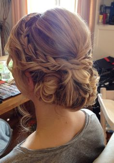 Bridal Hair by Michelle Weyand  www.michelle-weyand.de