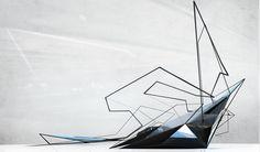 Lamborghini Exhibition space | Aleksandra Sliwinska | Archinect