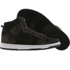 new arrival e46cf 7dee1 Nike Dunk High Pro SB - Iguana Camo shoes in iguana and black.  PickYourShoes · Men