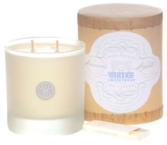 Linnea's Lights Natural Soy Winter Candle  I have a candle! :D
