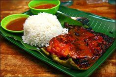 Ikan bakar. Literal translation? Burnt fish. But its not actually burnt! Soo good!