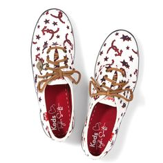 Set sail for some serious fun in these anchor print Keds from Taylor Swift's collection! Get them exclusively at Nordstrom.