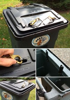7 Best Bear & Animal Proof Garbage Cans images in 2015 | Bear animal
