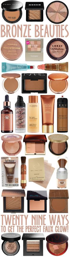 bronze beauties: 29 ways to get the perfect faux glow!