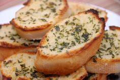 Garlic bread, love it.