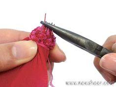 Nylon Stocking Flower Making Tutorials - New Sheer Creations