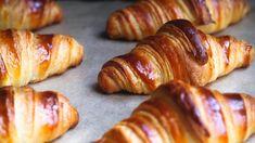 Croissant – Ida Gran-Jansen Croissant, Sausage, Cheese, Snacks, Meat, Baking, Bread Making, Appetizers, Patisserie