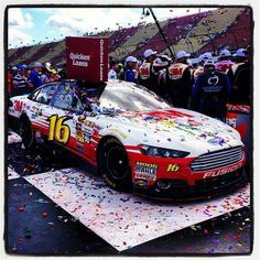 GREG BIFFLE WINS AT MIS AND GETS FORDS 1000 WIN