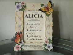 Name Meaning Framework w/ Religious quote  by CathyMarina on Etsy