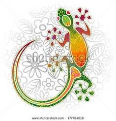 Gecko Stock Photos, Illustrations, and Vector Art