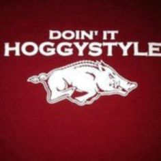 hahaha! Razorbacks! LOVE!