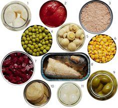 Alimento em conserva: como escolher a melhor alternativa?
