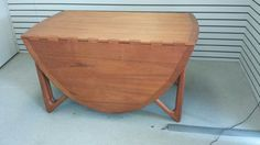 Drop Leaf Table, Danish Modern, Mid Century, Dining Table, Leaves, Awesome, Etsy, Furniture, Home Decor