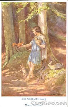 Margaret Tarrant- The Woodland Maid Fantasy