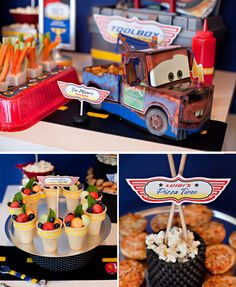 Super Cool Disney Pixar Cars Birthday Party I hope Cars is still cool by the time I have kids! Or else this is my new party theme!!