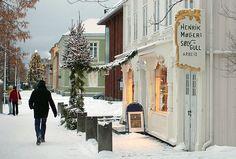 Christmas at Henrik Møllers Sølv og Gull in Trondheim, Norway
