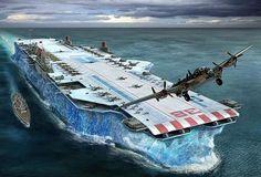 Future aircraft carrier