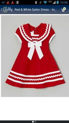 Love this sailor dress!