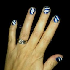 Fun nails .... By yours truly