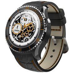 IQI I2 Andorid 5.1 Smartwatch 3G Watch Phone MTK6580 Quad Core 512MB RAM 4GB ROM Heart Rate Measurement Waterproof GPS Watch