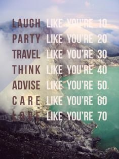 & live like your in the moment ;)