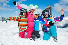 Put your hands up with the whole family! OH, WINTER...
