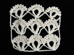 Crochet : Punto Fantasia # In Spanish but tutorial is so good it shouldn't matter if you don't speak Spanish. Crochet Art, Crochet Motif, Irish Crochet, Crochet Flowers, Tatting Patterns, Crochet Stitches Patterns, Crochet Designs, Broomstick Lace, Crochet Instructions
