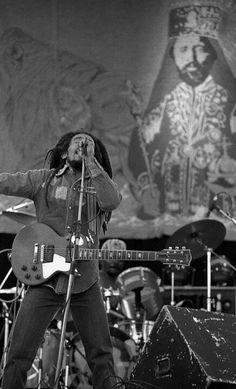 Bob Marley Ireland 1980