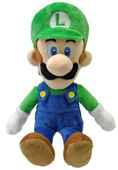 "Little Buddy Toys Luigi 16"" Plush Little Buddy Toys http://www.amazon.com/dp/B00F6CX5HM/ref=cm_sw_r_pi_dp_RyPRub1MMCR1Q"