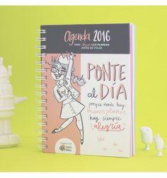 Agenda 2016 - Para chicas que planean antes de volar