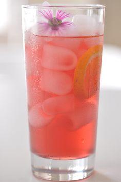 ziiikocht: Eisgekühlter Hibiscus-Orangentee mit einem Hauch von Lavendel