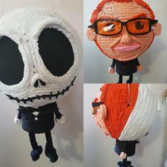 #Piñata #Doble #DannyElfman no solo hacemos piñatas personalizada, también las hacemos dobles. Cuando tú pequeñ@ está indecis@ en #VivaPiñataFactory  tenemos la solución.