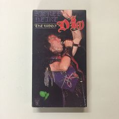 Dio - Sacred Heart: The Video (VHS, music concert video Vinny Appice, The Last In Line, Rainbow Songs, Holy Diver, James Dio, Stuck In The Middle, Live Rock, Sword And Sorcery, Heaven And Hell