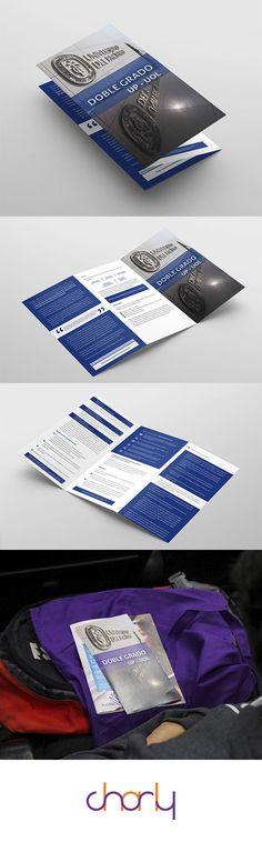 Centro de Doble Grado de la Universidad del Pacífico. Brochure para la Unidad.