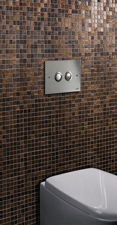 Design push plates for in-wall flush cisterns, Made in Italy for Bathroom decor, Bathroom design, Interior design   Placche di comando Arredamento Bagno