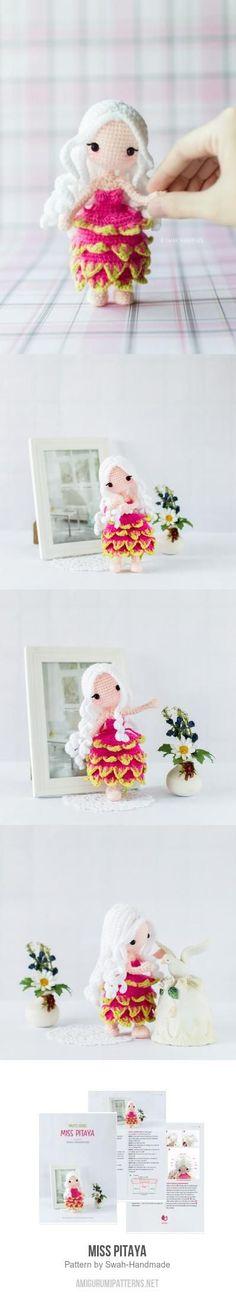 Miss Pitaya amigurumi pattern