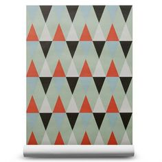 The stylish wallpaper Nova Mist  from ISAK has a lovely harlequin pattern, the design feels trendy and retro at the same time. This wallpaper looks great in a livingroom or bedroom, combine it with other retro details to create a stylish environment.