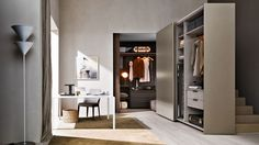 Gliss Quick 45° Door Wardrobes by Ron Gilad for Molteni & C | 衣帽间 ...