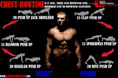 chest workout routine for calisthenics athletes