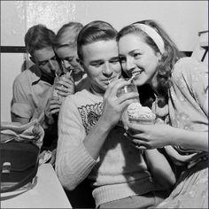 U.S. Teens, 1947. I swear I was made for this era...
