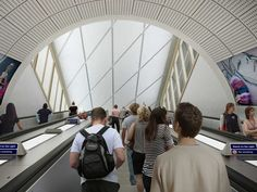 Image 2 of 16 from gallery of Crossrail Unveils New Station Designs for London's Elizabeth Line. Photograph by Crossrail Line Images, Lest We Forget, Year 2016, Transportation, Louvre, London, Architecture, Gallery, Building