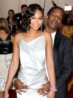Chanel Iman and A$AP Rocky have called it quits