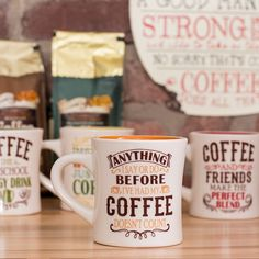We know how important your coffee is. That's why we brew it fresh all day.